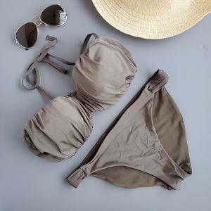 H&M Olive Green Bikini